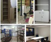 Armarios, estanterías y góndolas