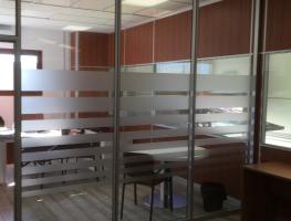 Mampara oficina simple