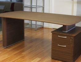 Mesa despacho cajonera adosada