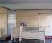 Panel lamas y mostrador