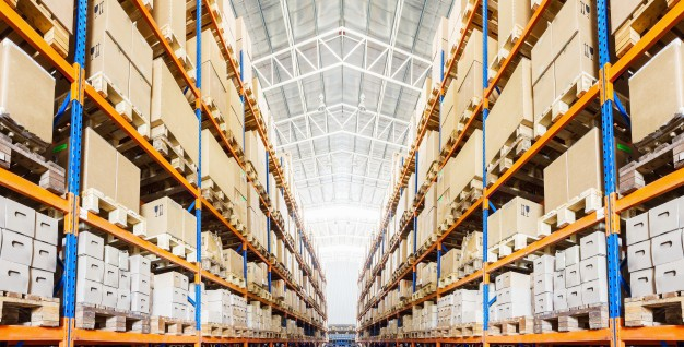 Estanterías industriales para palets