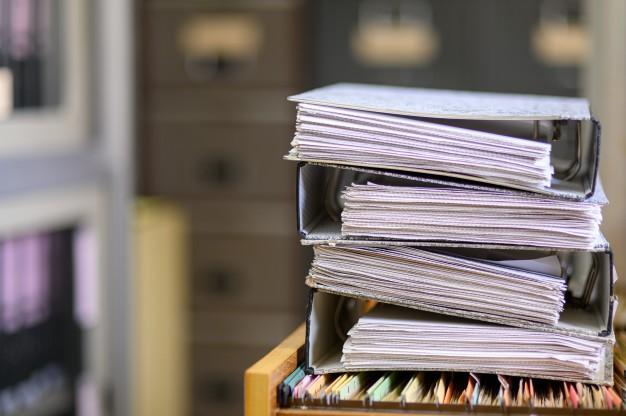Cómo organizar los documentos de una empresa