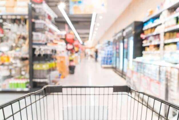 Distribución de un supermercado