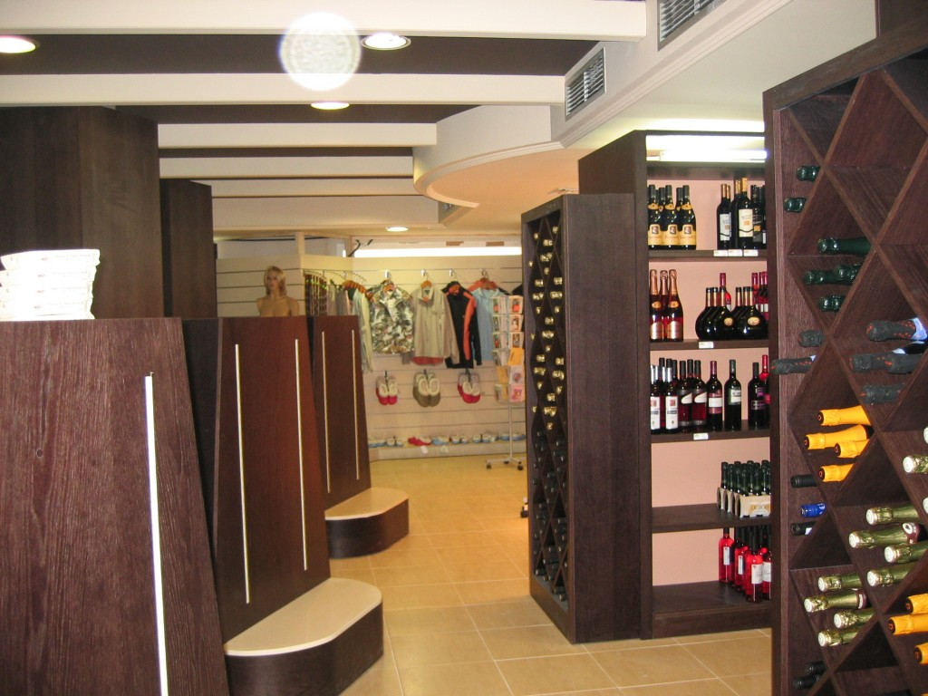Estanterias para vino estanteria para vino y copas cmo - Estanterias para vino ...