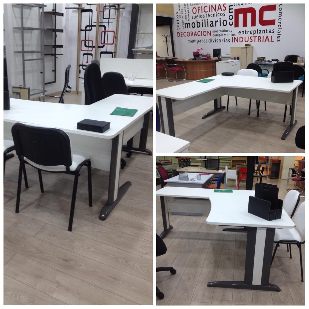 Mesas de oficina y sillas de oficina mc mobiliario for Mobiliario de oficina malaga